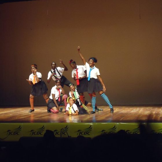 Jamaica Christian School for the Deaf play.