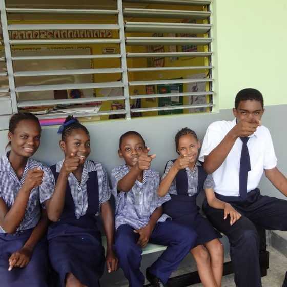 Jamaica Christian School for the Deaf Being Silly